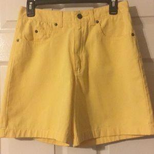 Talbot's Petites Denim Shorts